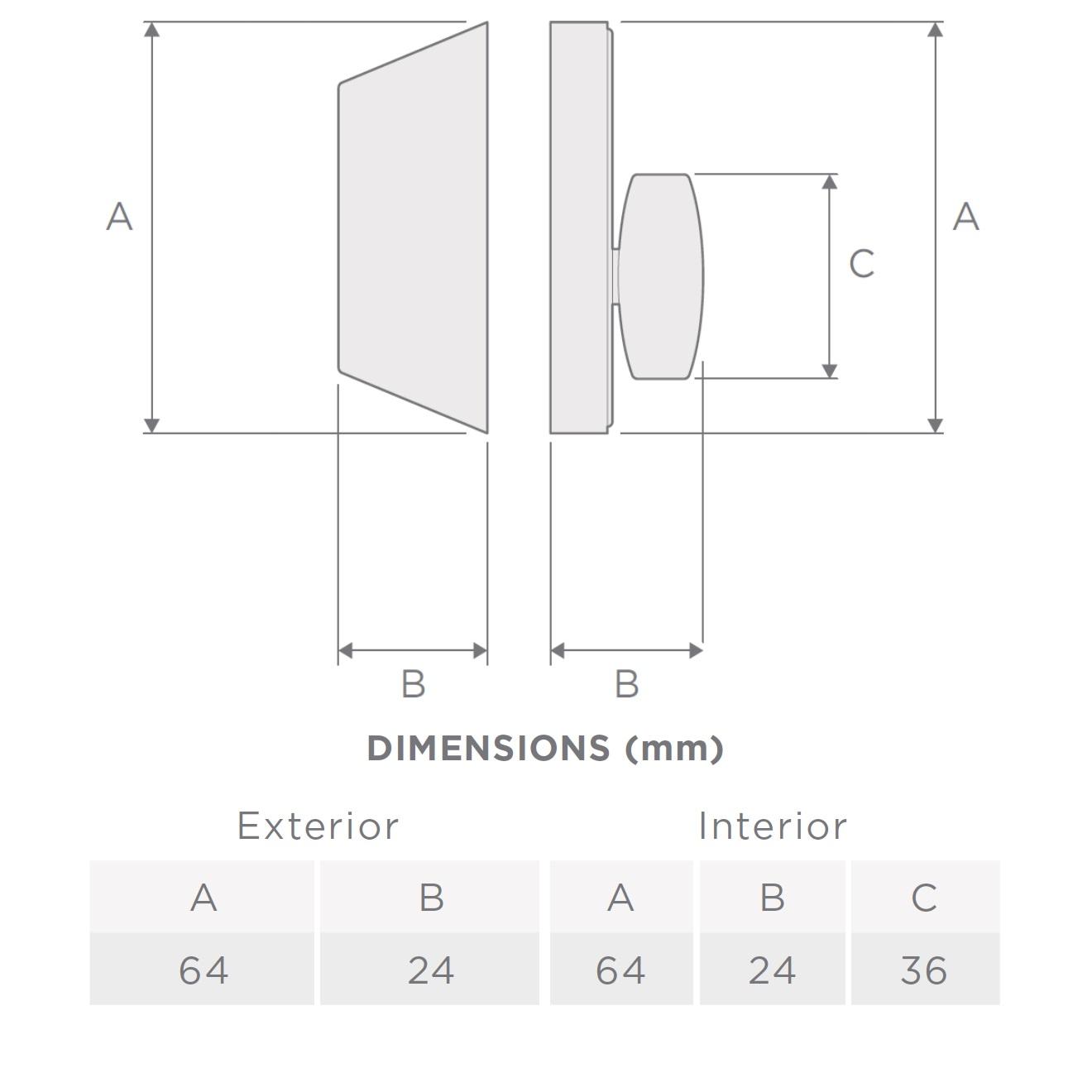 Single Cylinder Dimension - Geo